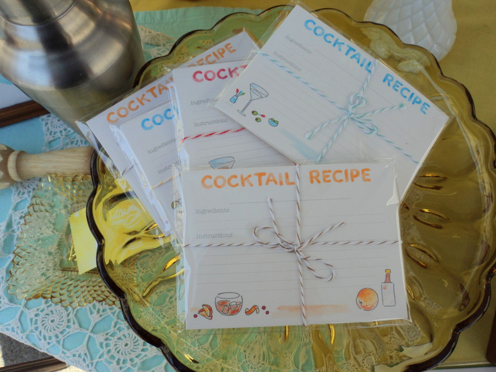Betsy Ann Paper Recipe Cards at the East Passyunk Avenue Crafty Balboa Craft Fair / Her Philly