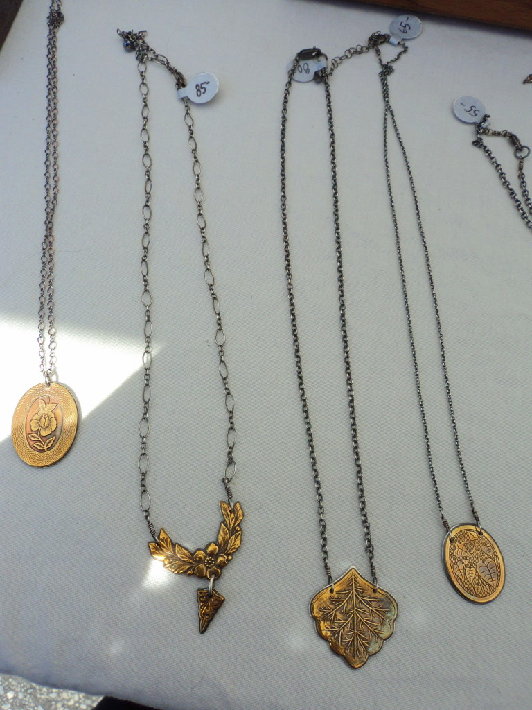 Anna Beau Jewelry at the East Passyunk Avenue Crafty Balboa Craft Fair / Her Philly