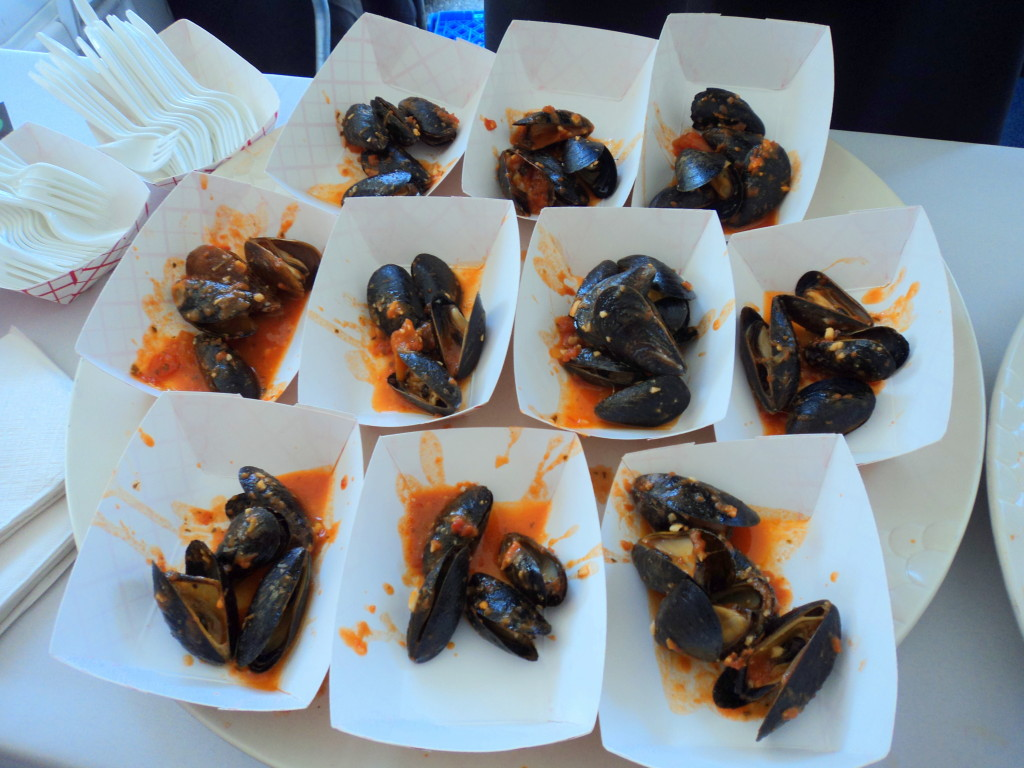 Mussels from South Philly Bar & Grill at East Passyunk Avenue's Flavors of the Avenue / Her Philly