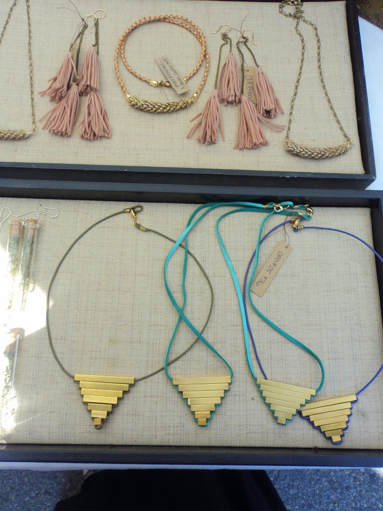 Old Blood necklaces at East Passyunk Avenue Crafty Balboa Craft Fair / Her Philly