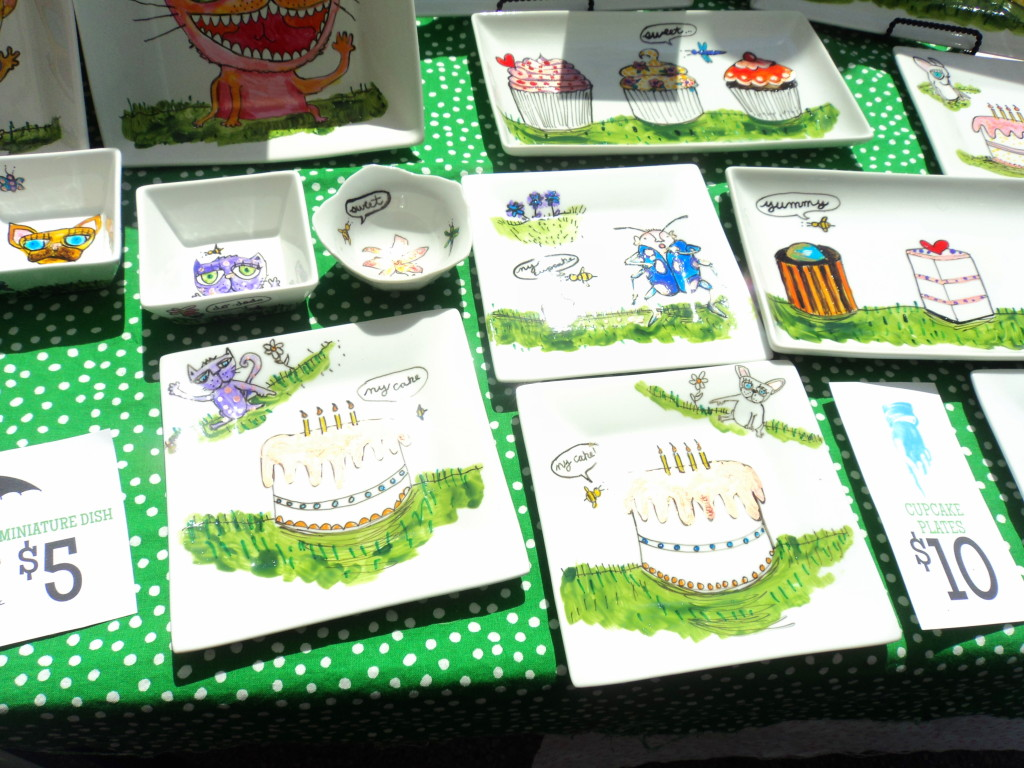 Superdeduper illustrations at East Passyunk Avenue Crafty Balboa Craft Fair / Her Philly