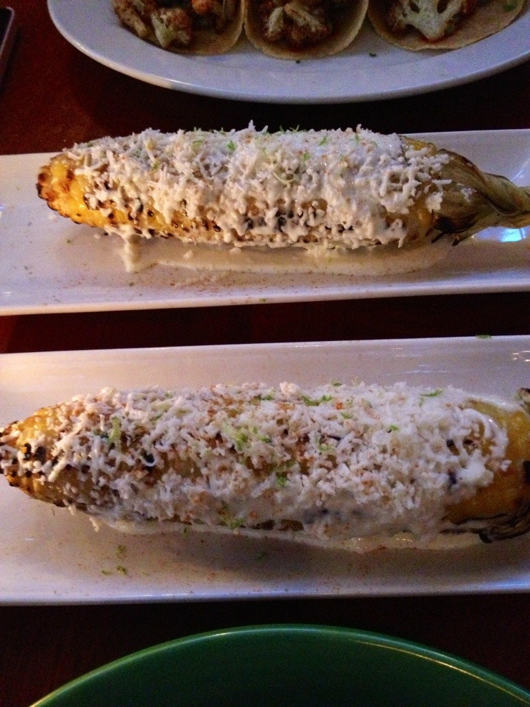 Philadelphia Mexican: cheesy corn on the cob // Her Philly
