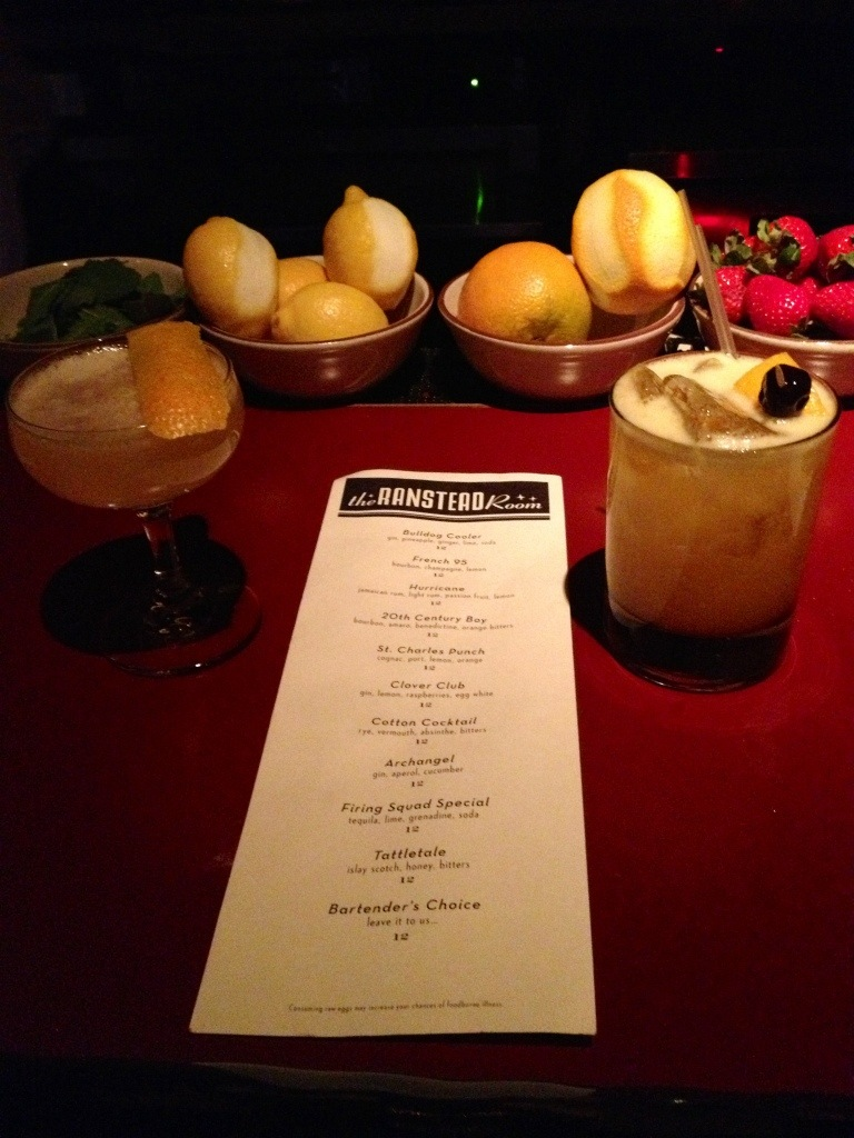 Summer Drinks at Philadelphia speakeasy the Ranstead Room // Her Philly