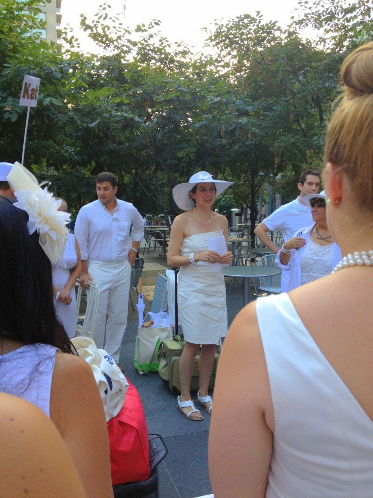 Instructions for Diner En Blanc 2013 // Her Philly