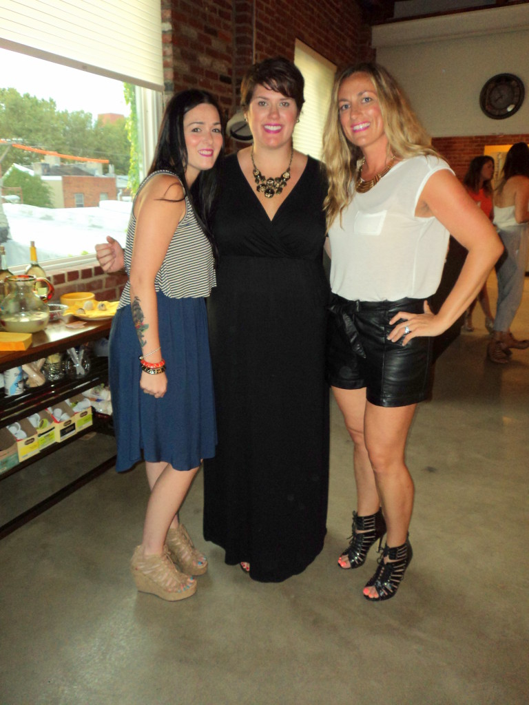 Owners of Headhouse Salon, Jade Carroll, Meighan Olkowski and Melissa Moscinski // Her Philly