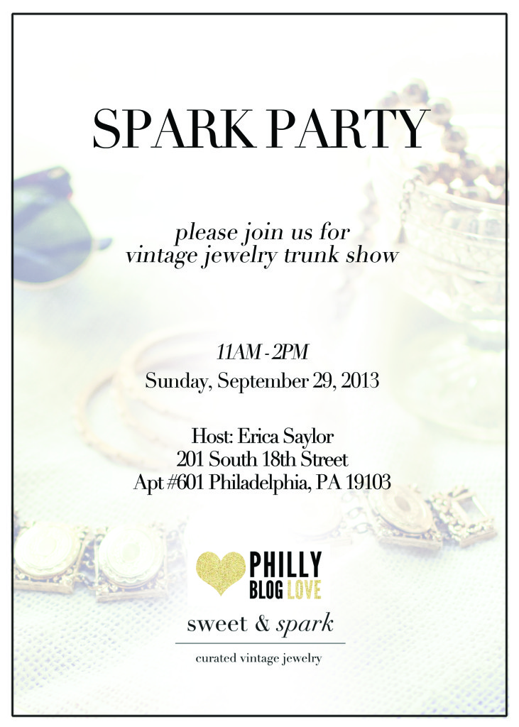 Vintage Jewelry Trunk Show in Philadelphia // Her Philly