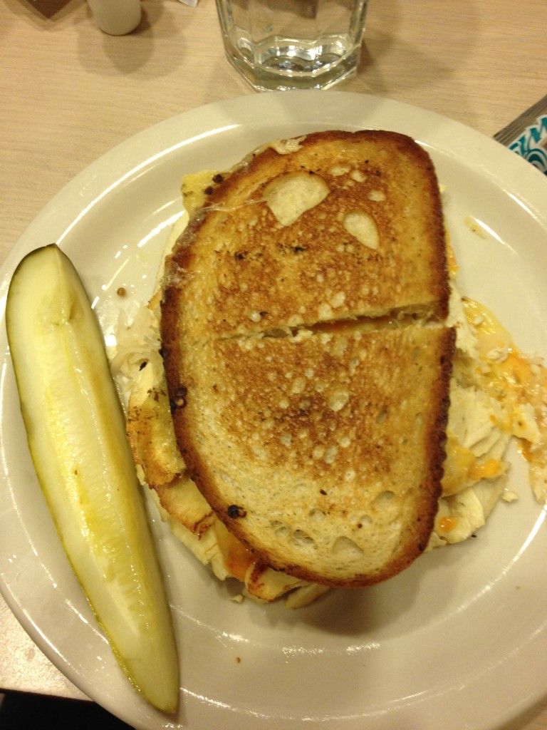 Turkey Reuben Philadelphia Little Pete's diner