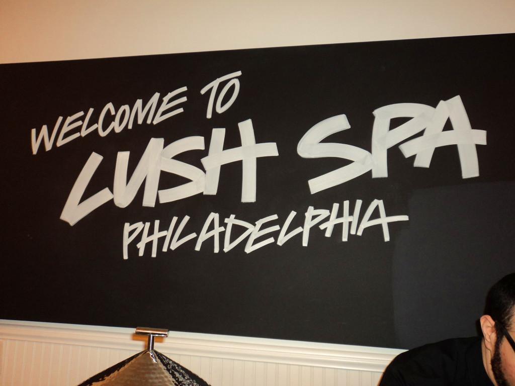 Lush Spa Philadelphia is now open