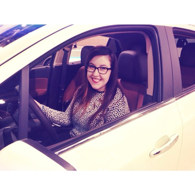 Driving a Buick Encore at the Philadelphia Auto Show // Her Philly