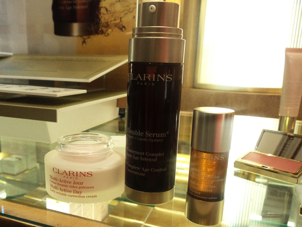 Clarins Double Serum // Her Philly
