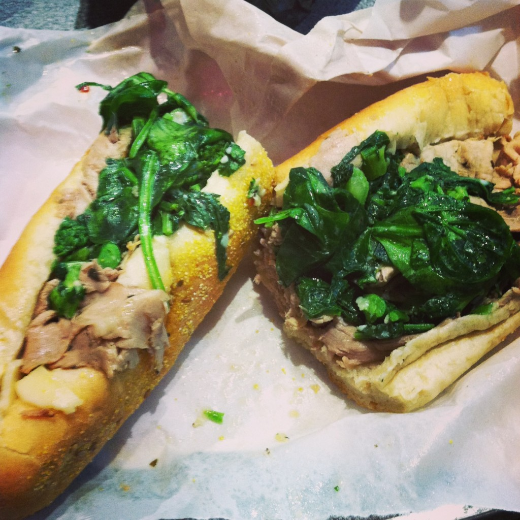 Roast Pork at DiNiC's in Reading Terminal Market // Her Philly