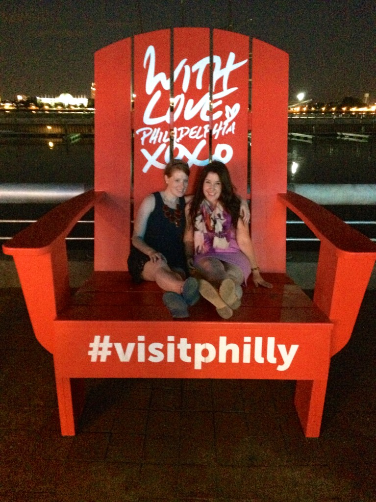 #VisitPhilly chair at SSHP // Her Philly