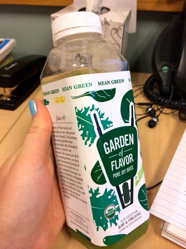 Garden of Flavor Juice #3: Mean Green // Her Philly