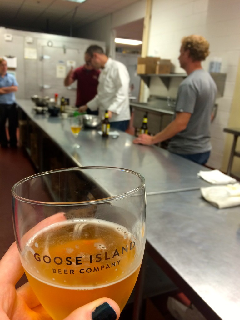 Learning how to make beer pretzels at Goose Island Migration Week // Her Philly