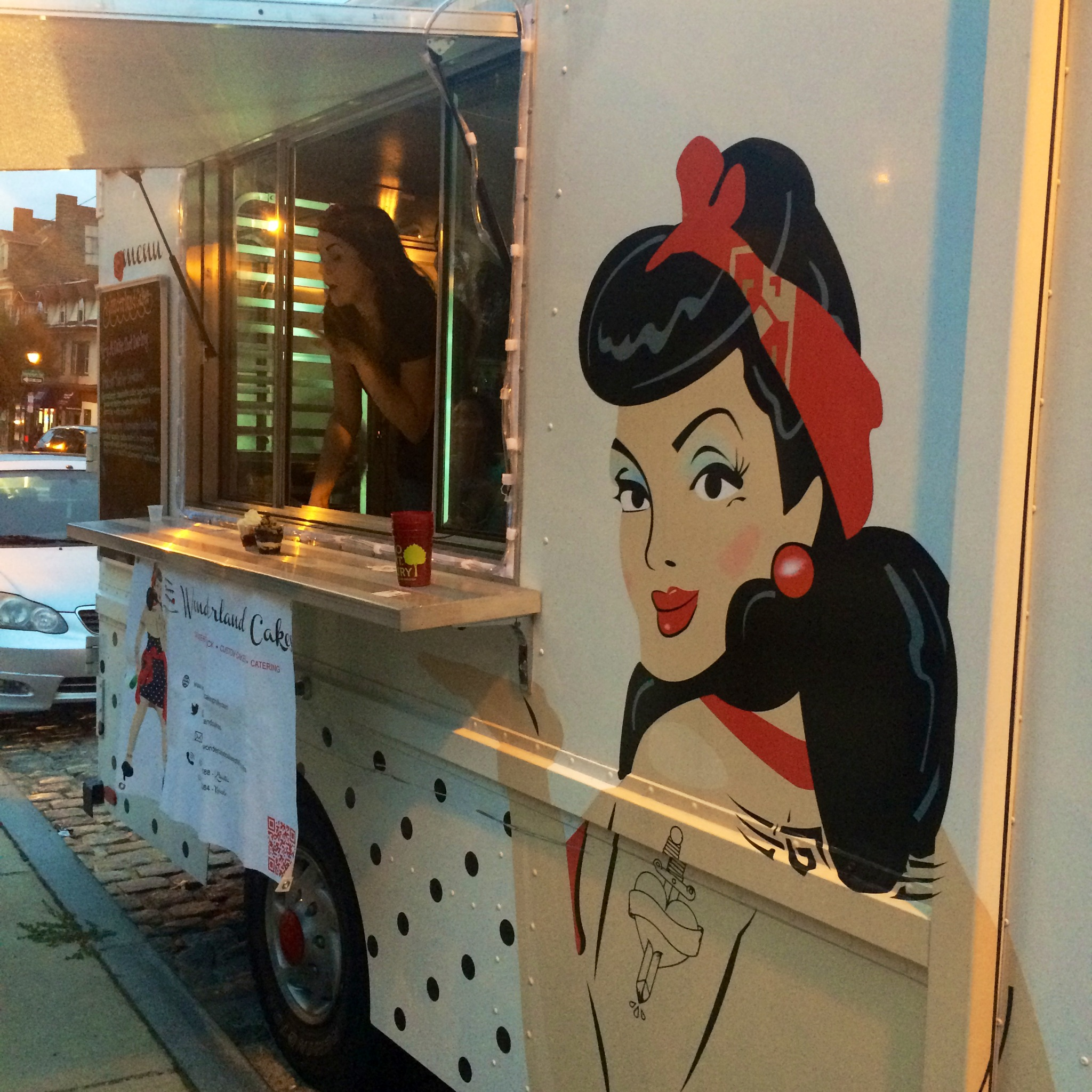 Wonderland Cakes Food Truck // Her Philly