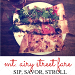{Sip, Savor, Stroll} Mt. Airy Grub + Street Fare Preview