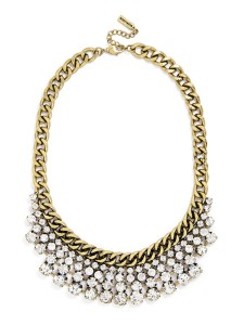 Baublebar Crystal Pheasant Bib Necklace // Her Philly