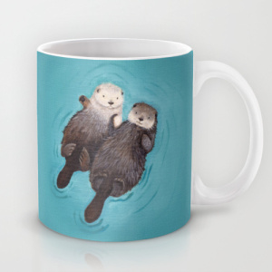 Society6 Otter Mug // Her Philly