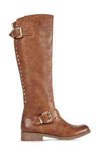 JustFab Brown Roxanne Boot // Her Philly