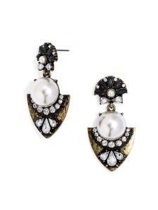 Baublebar Pearl Ishtar Drop Earrings // Her Philly