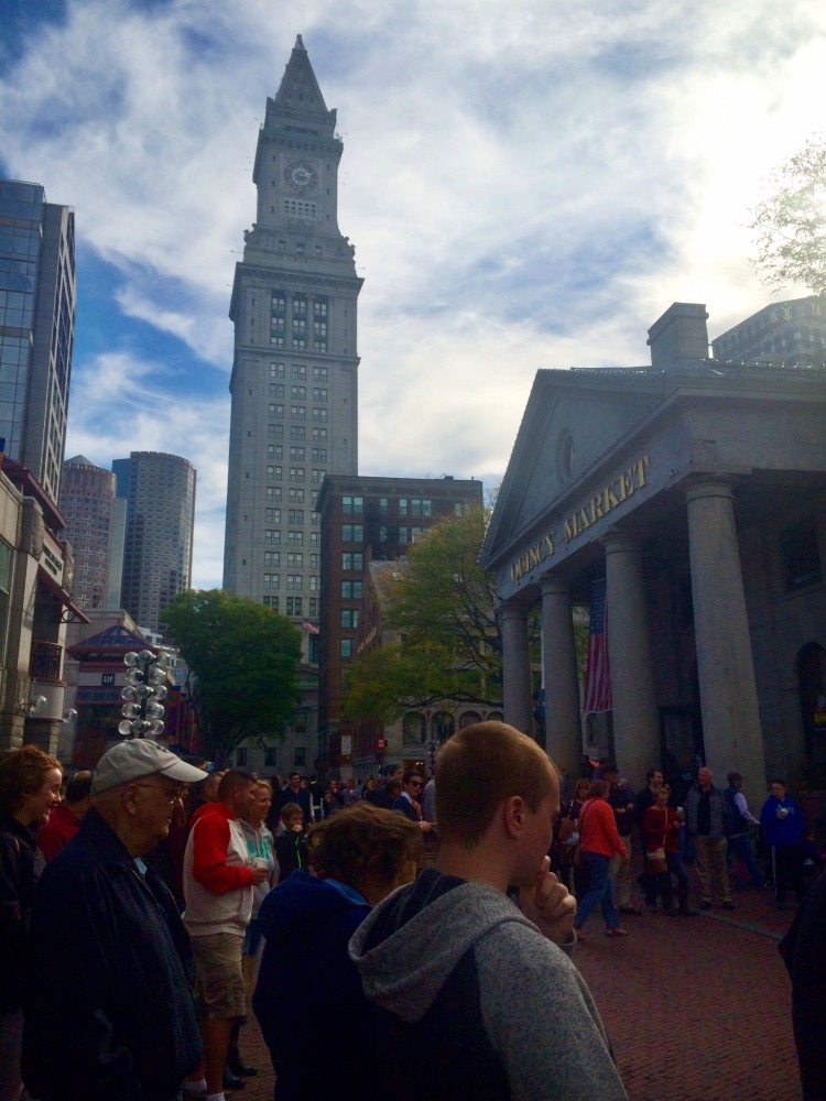 Quincy Market in the fall // Her Philly