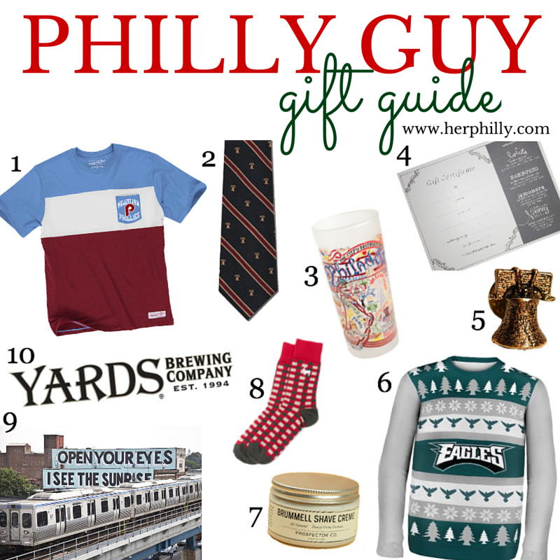 Philadelphia Gifts to Get a Guy this Holiday