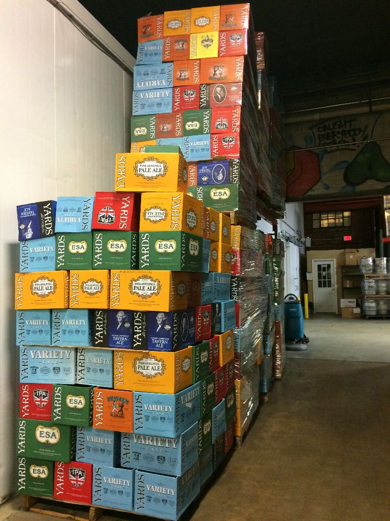 Touring Yards Brewery Philadelphia