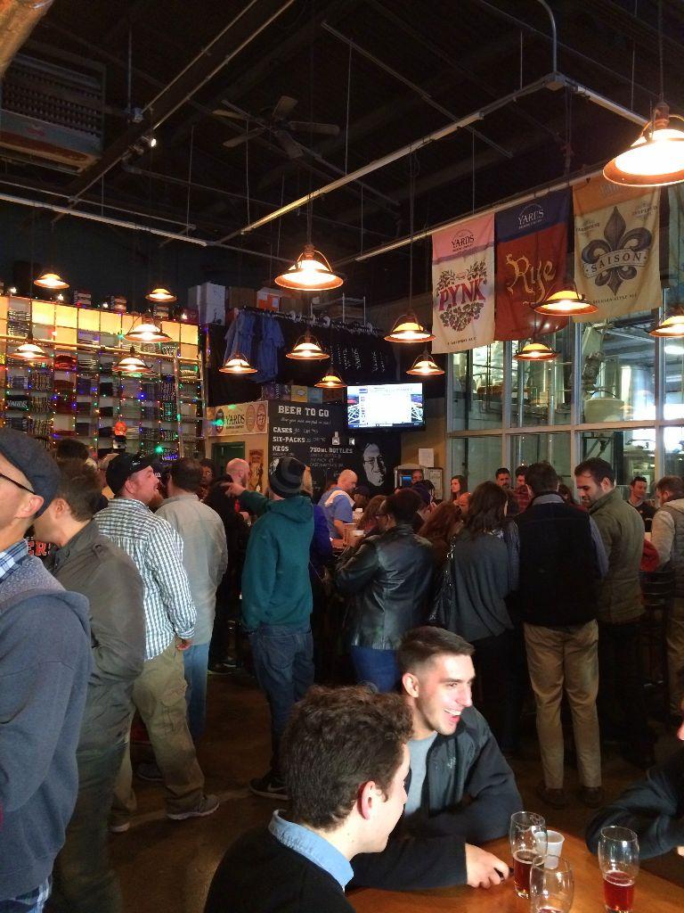 Yards Brewery Tasting Room