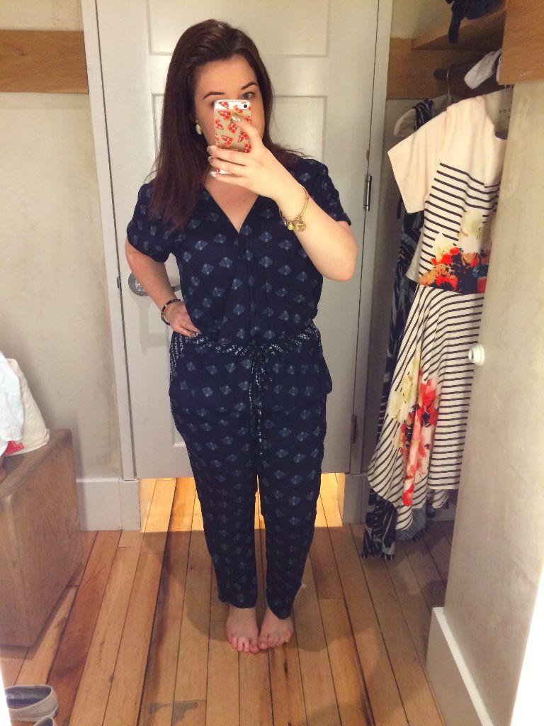Anthropologie Jumpsuit Size 10 Spring 2015