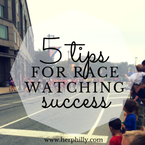 tips for watching a race