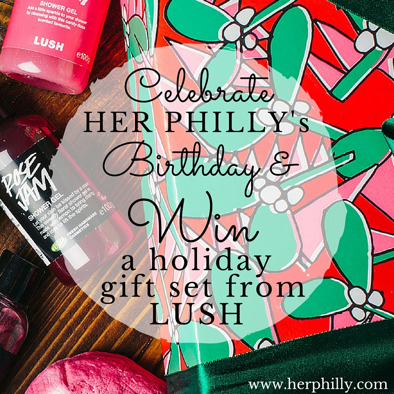 Win a Lush Holiday Gift Set