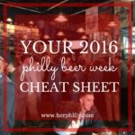 Your Philly Beer Week Cheat Sheet