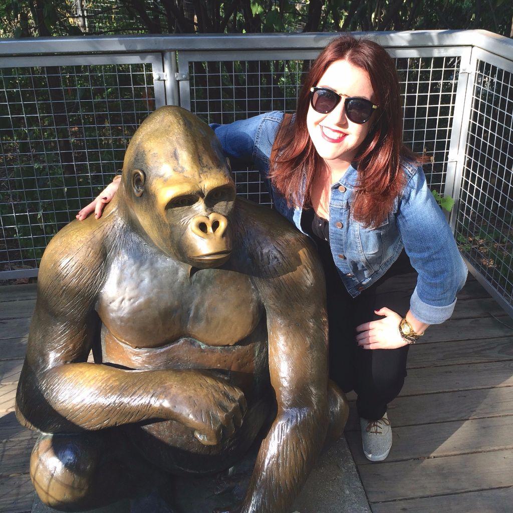 Philadelphia Blogger Emily Tharp at Philly Zoo
